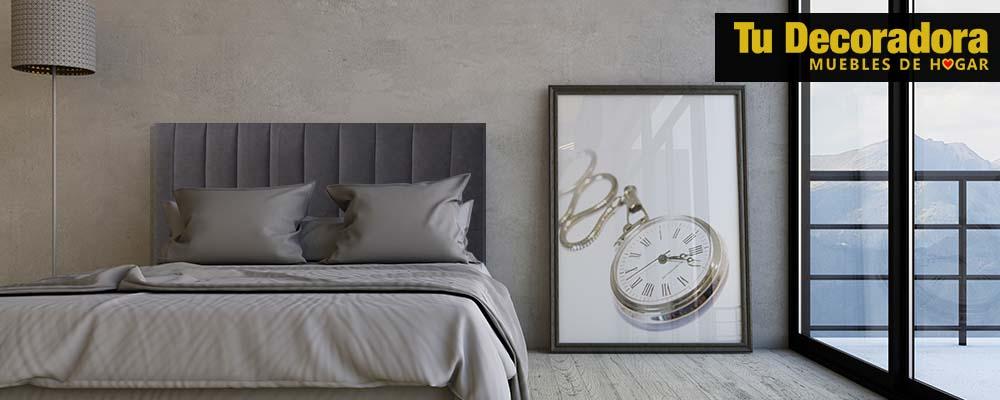 cabecero de cama acolchado - tu decoradora - tu tienda de muebles yecla - interiorismo
