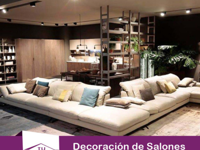 Decoracion sofa taburete