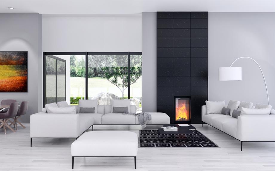 Catalogo de muebles y sofás color blanco para sala y salones en Yecla
