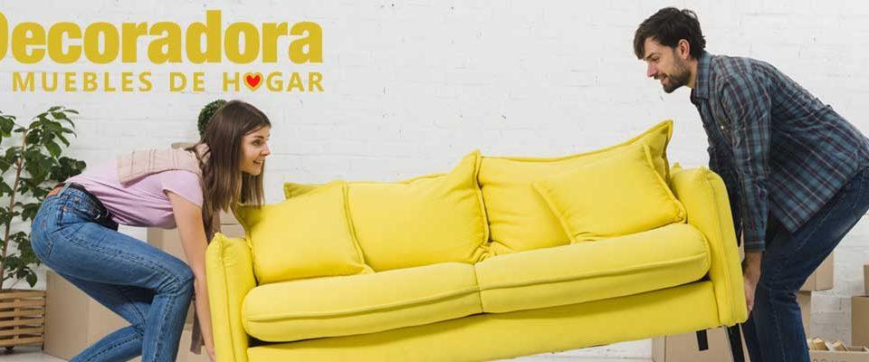 decoración de salones con sofa de tu decoradora tienda de muebles en yecla