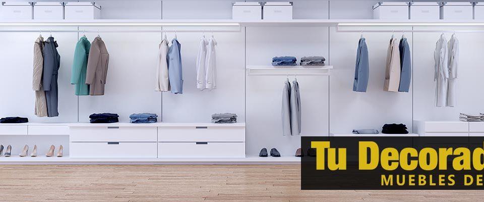 ideas para diseñar el mejor vestidor - tu decoradora yecla