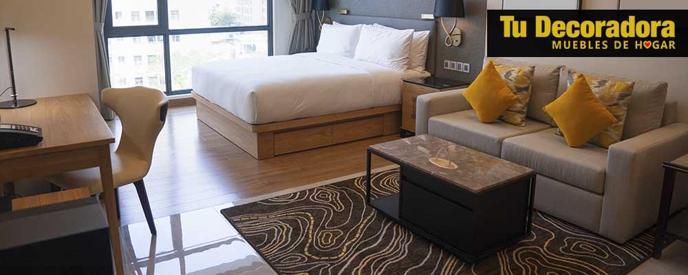 decoracion de dormitorios - loft - tu decoradora