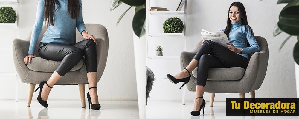 ergonomia del sillon - decoracion del hogar - tu decoradora yecla