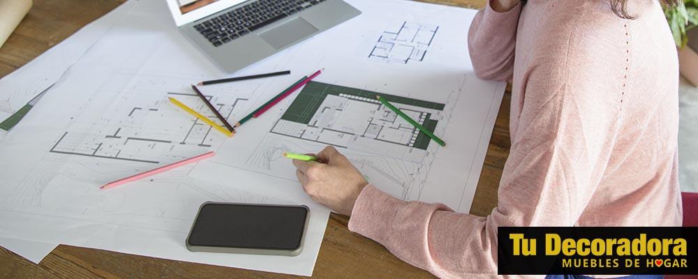 medir y dibujar el espacio donde ira el sillon - hogar - tu decoradora yecla