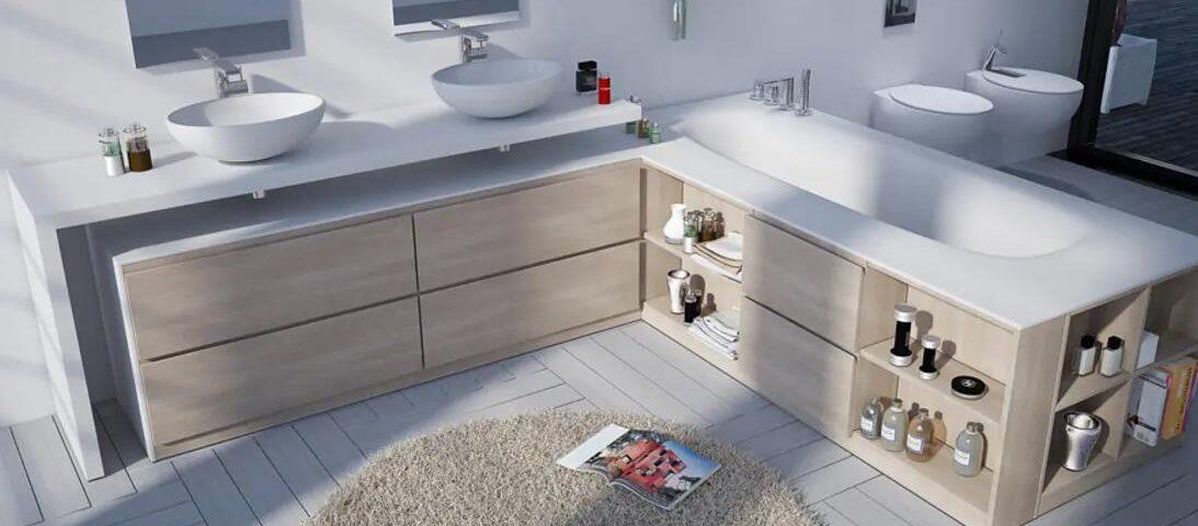 Muebles para baño con lavabo - Tu Decoradora - muebles en Yelca