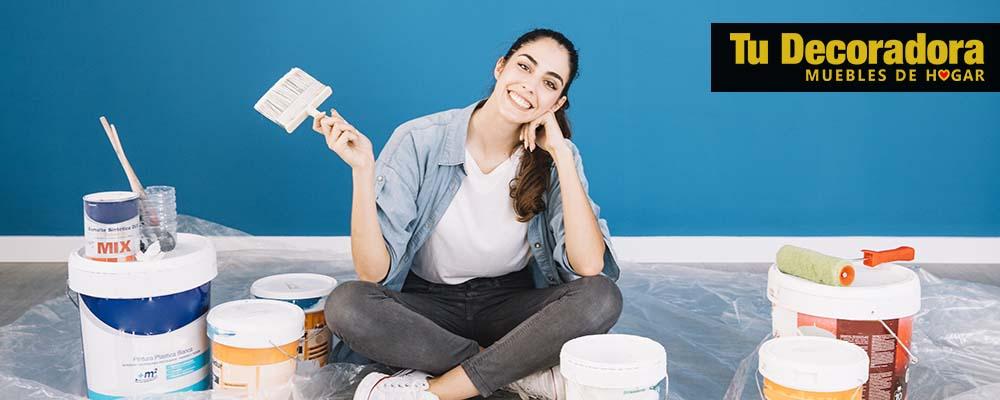 Pintura para paredes para decorar tu hogar