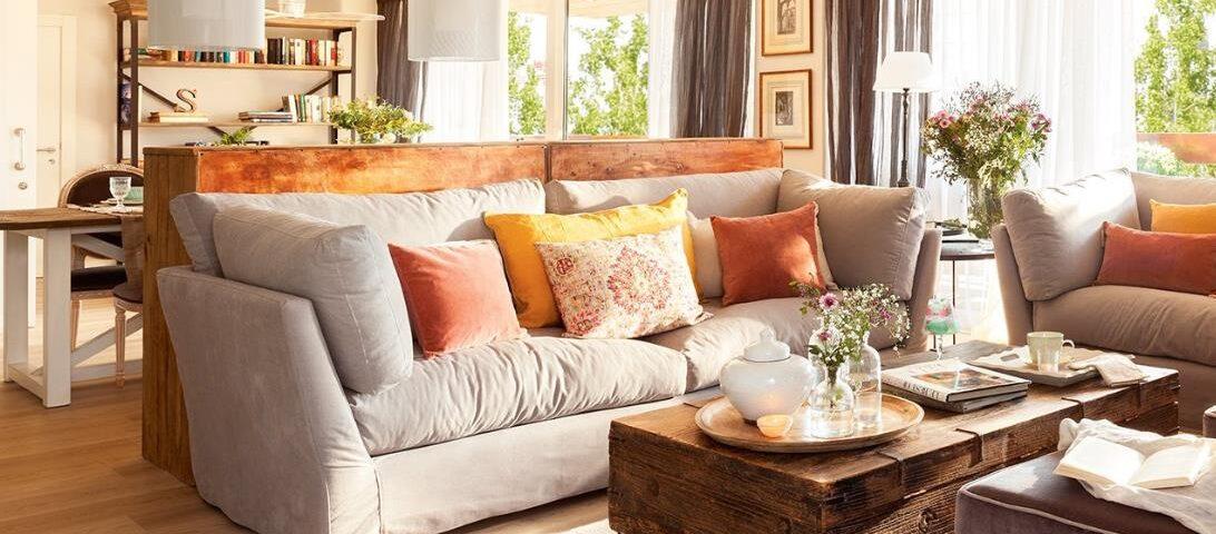 Ambientes acogedores de hogar