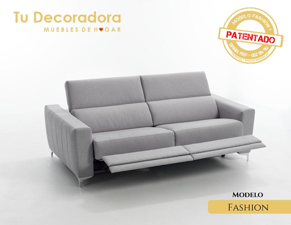 Sofá modelo fashion lateral izquierdo